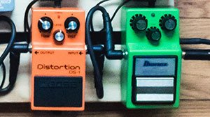 heavy metal distortion & overdrive pedal
