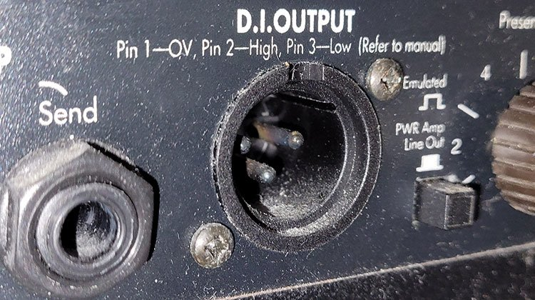 recording guitar - amp line out