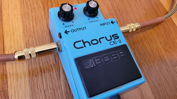 what does a chorus pedal do - and how does it work?